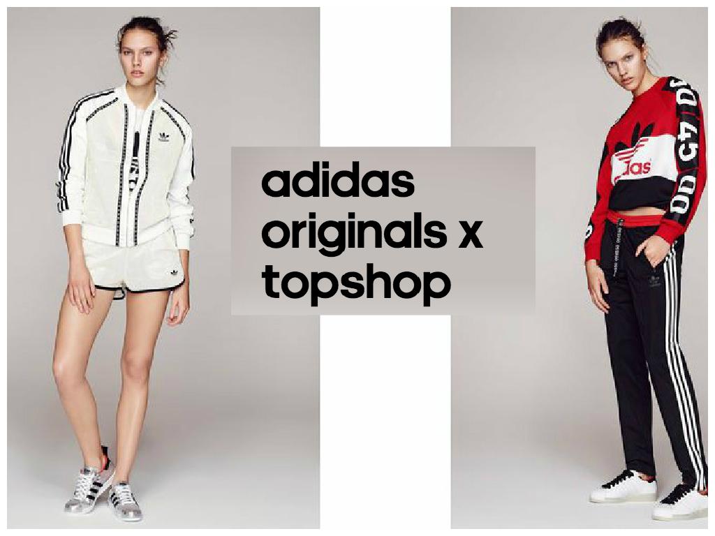 Topshop x adidas Originals Collection