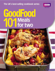 BBC Good Food 101 Meals for 2
