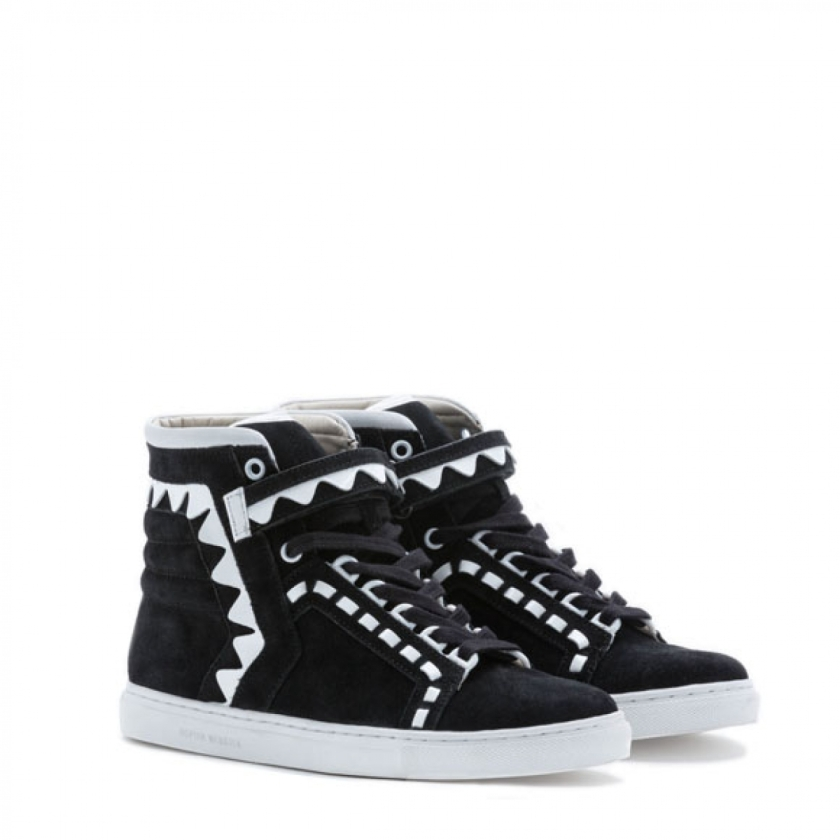 Sophia Webster Riko High Top Black Sneaker 2