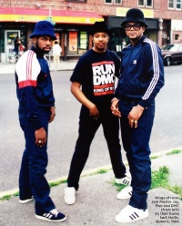RUN DMC in Adidas originals - that the ice of all that is cool