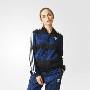 Adidas_Blue floral
